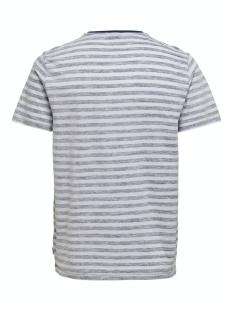 onsignite slim ss stripe tee 22016734 only & sons t-shirt dress blue/white