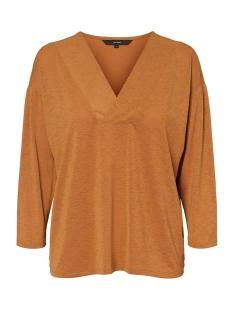 Vero Moda T-shirt VMGALOA 3/4 TOP JRS 10225663 Meerkat