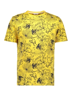 Only & Sons T-shirt ONSEMIL SLUB AOP REG TEE SS 22012258 Mimosa