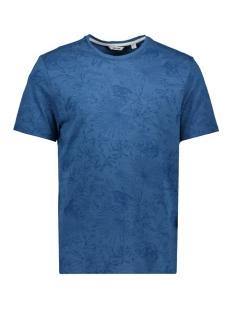 Only & Sons T-shirt ONSEMIL SLUB AOP REG TEE SS 22012258 Dark Blue