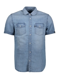 Vanguard Overhemd SHORT SLEEVE INDIGO DENIM SHIRT VSIS203248 5402