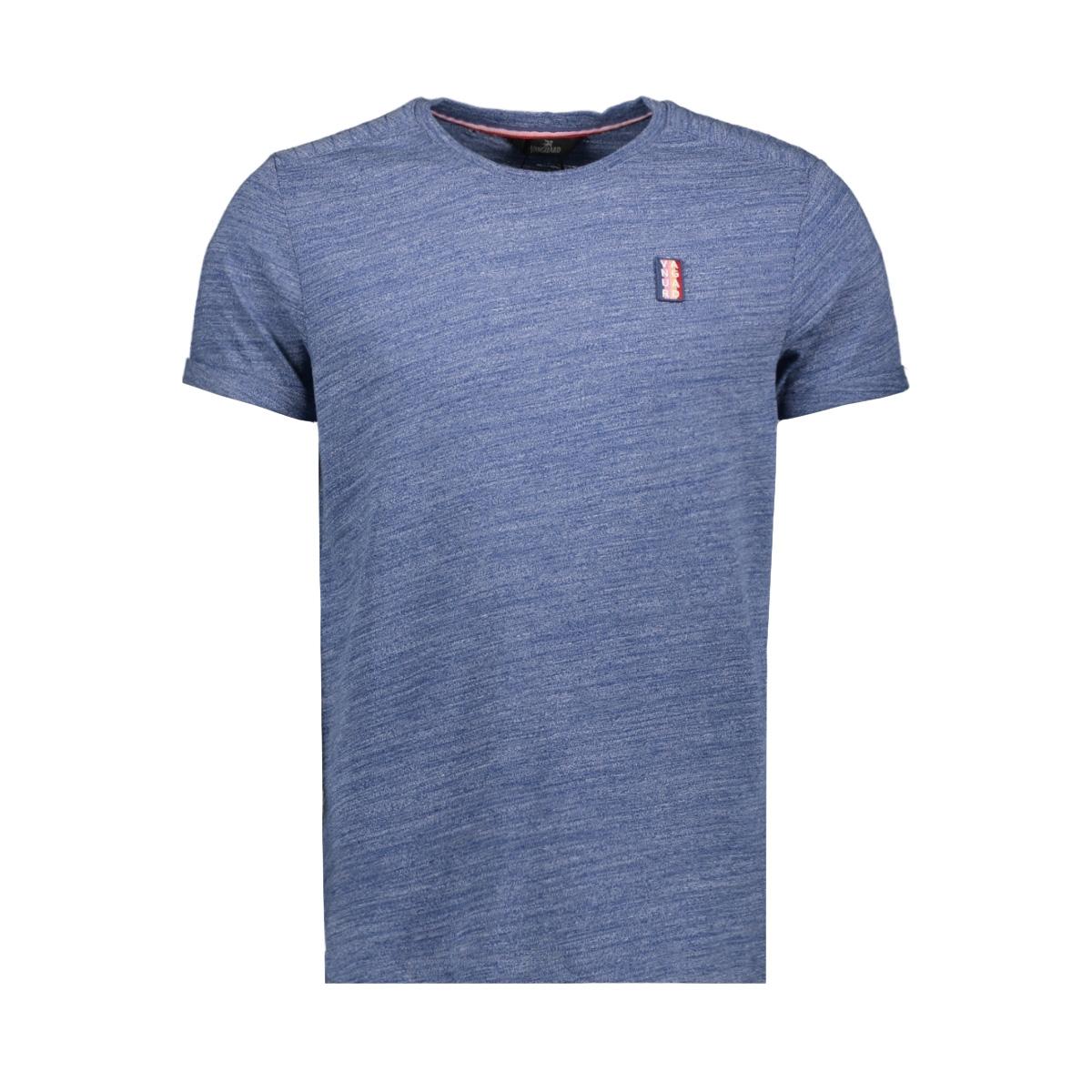 r neck t shirt with badge vtss203542 vanguard t-shirt 5054