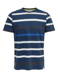 Only & Sons T-shirt ONSEDUARD LIFE SLIM  TEE NF 6620 22016620 Dress Blues