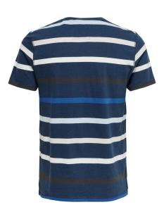onseduard life slim  tee nf 6620 22016620 only & sons t-shirt dress blues