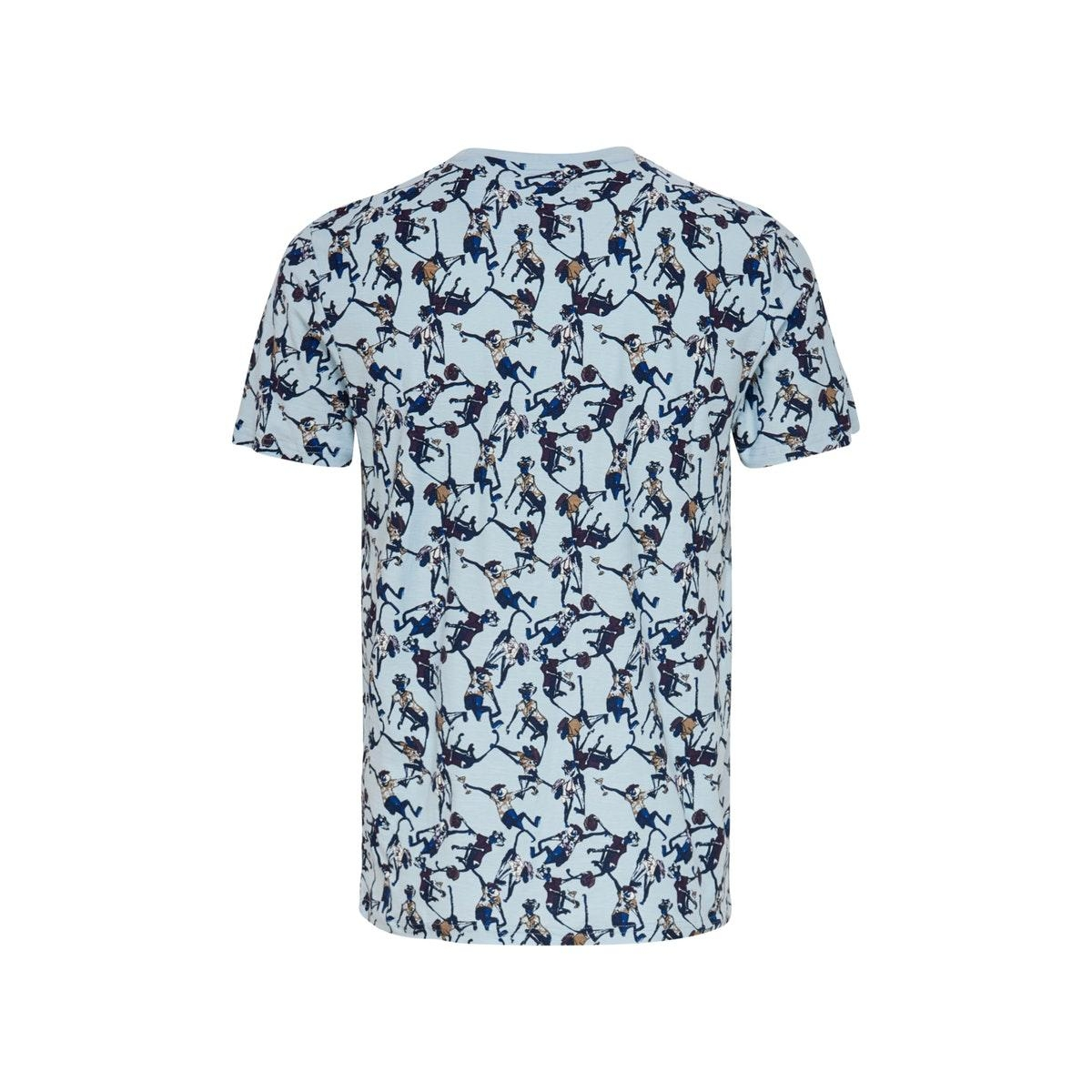 onsedgarki life slim ss tee nf 6542 22016542 only & sons t-shirt cashmere blue