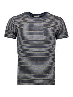 stripe jersey t shirt ctss203276 cast iron t-shirt 7138