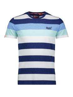 Superdry T-shirt OL HOOP STRIPE TEE M1010180A VIVID COBALT