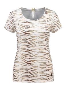 Key Largo T-shirt EDITH ROUND NECK WT00229 1600 BROWN