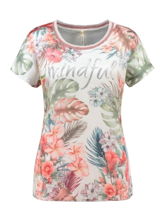 Key Largo T-shirt MINDFULL ROUND WT00202 1001 OFFWHITE