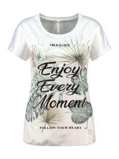 Key Largo T-shirt ENJOY ROUND WT00203 1001 OFF WHITE