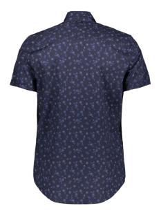 short sleeve shirt in poplin with print vsis203268 vanguard overhemd 5318