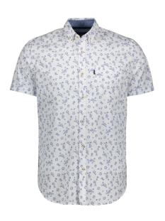 short sleeve shirt in poplin with print vsis203268 vanguard overhemd 7003