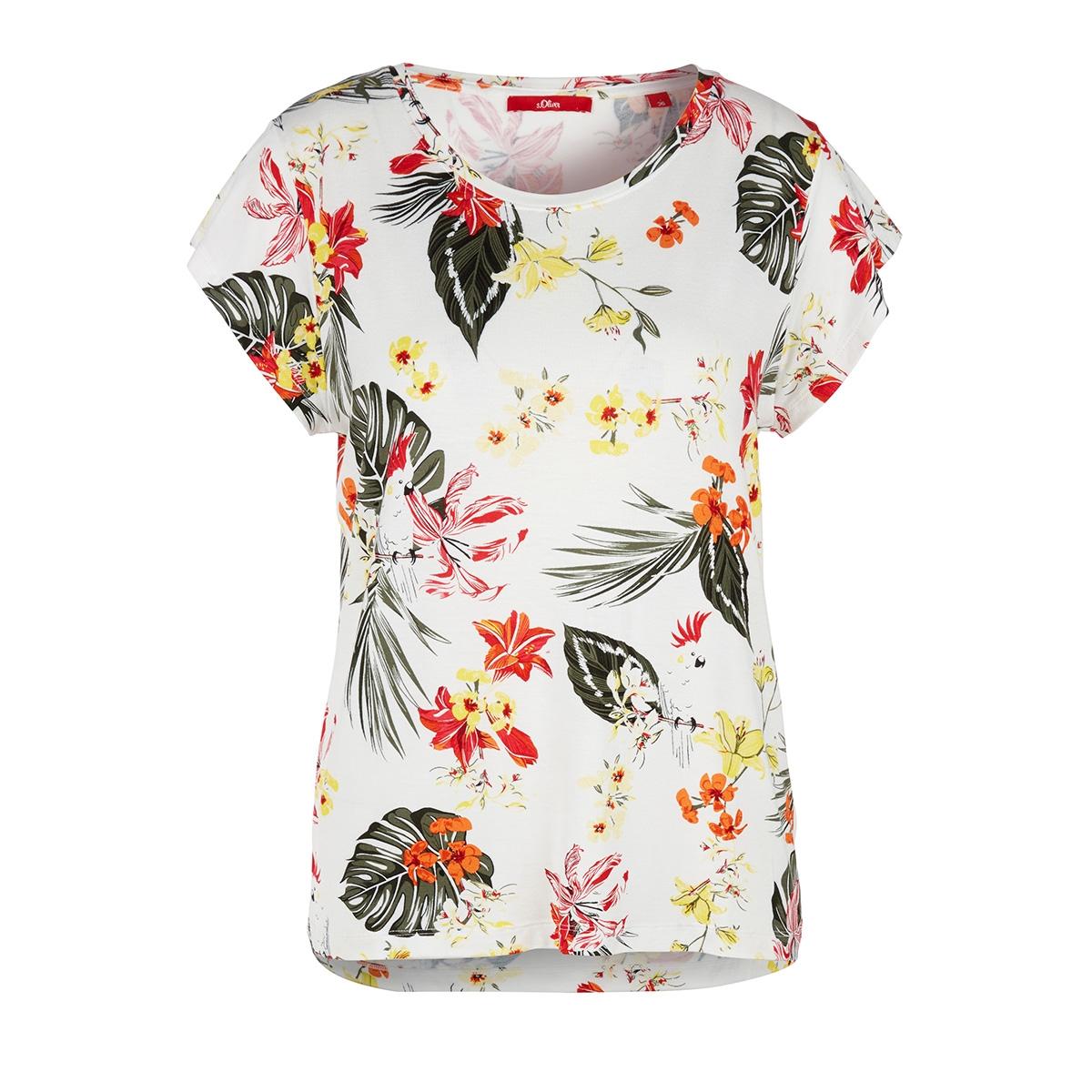 jersey shirt met all over motief 14004324697 s.oliver t-shirt 02b1