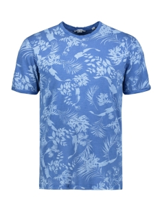 onspecos ss aop tee 22013199 only & sons t-shirt nebalus blue
