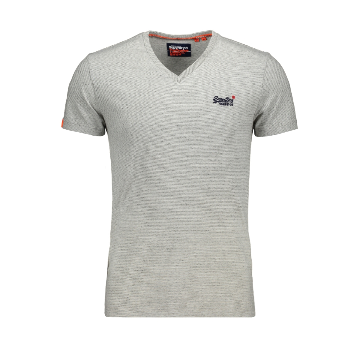 vintage tee m1010032a superdry t-shirt silver glass feeder