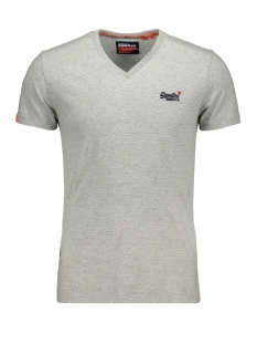 Superdry T-shirt VINTAGE TEE M1010032A SILVER GLASS FEEDER