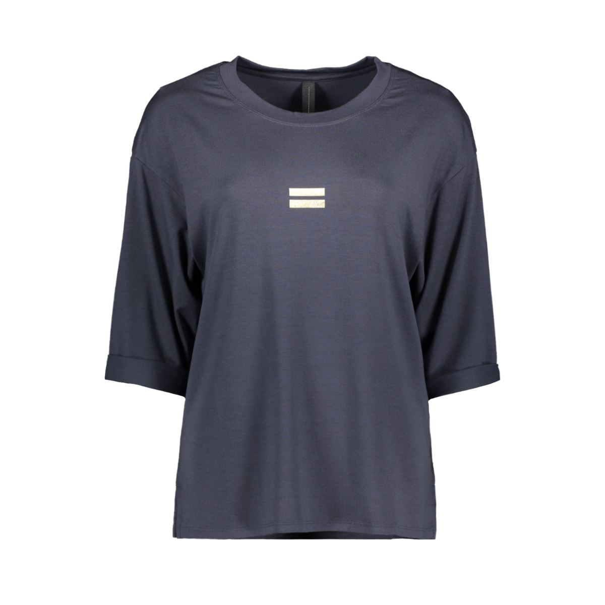 short sleeve tee 20 748 0202 10 days t-shirt dark grey blue