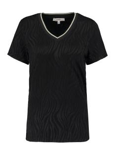 t shirt met all over zebradessin p00213 garcia t-shirt 60 black
