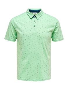 Only & Sons Polo ONSLIAM SS POLO TEE 22012573 AQUIFER