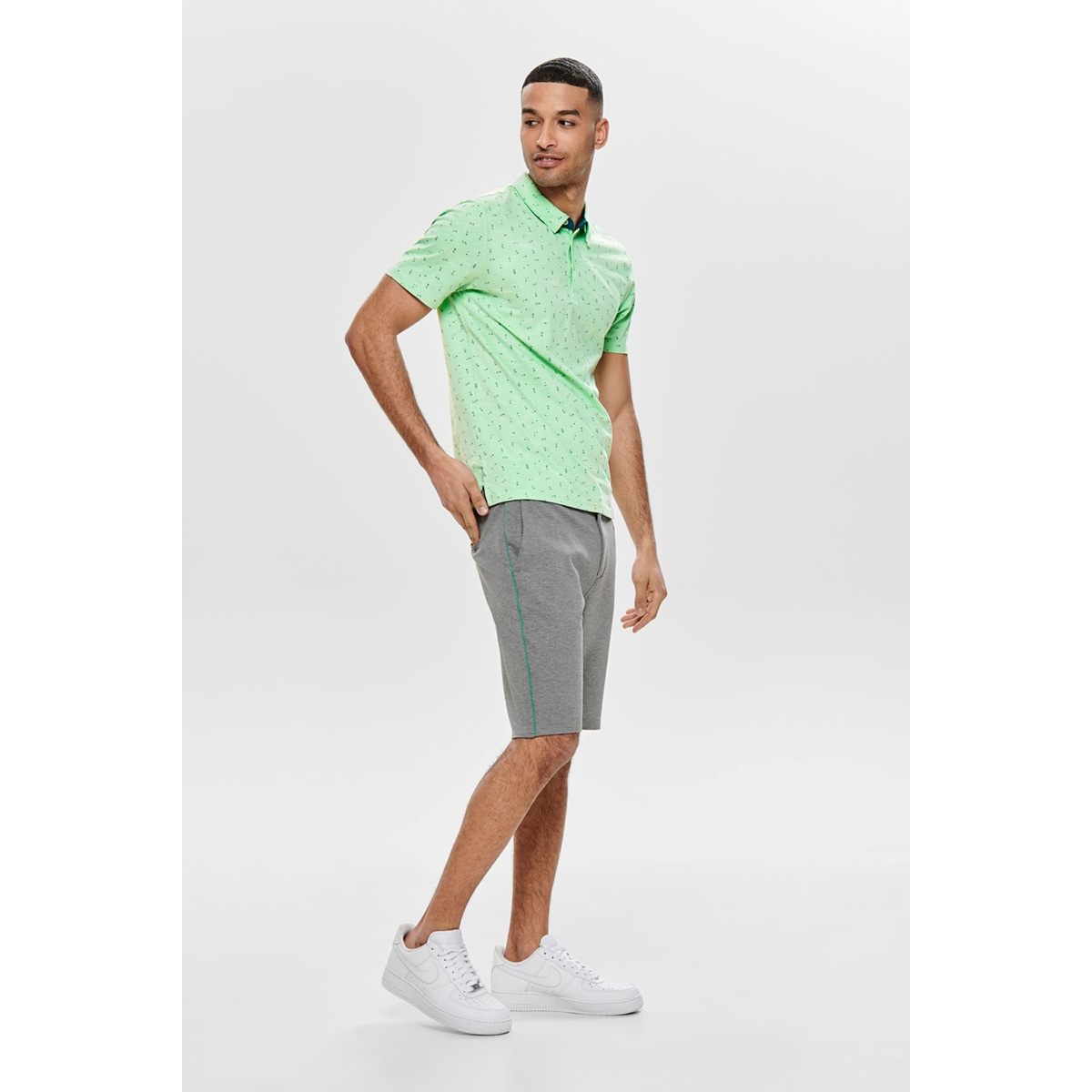 onsliam ss polo tee 22012573 only & sons polo aquifer