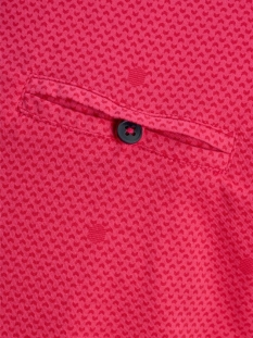 jcobarbar tee ss crew neck nl 12174745 jack & jones t-shirt raspberry rose/slim