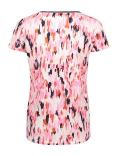 meerkleurig t shirt q00016 garcia t-shirt 7612 burnt ochre