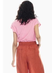 t shirt met glitter tekstprint q00004 garcia t-shirt 3144 rosebloom