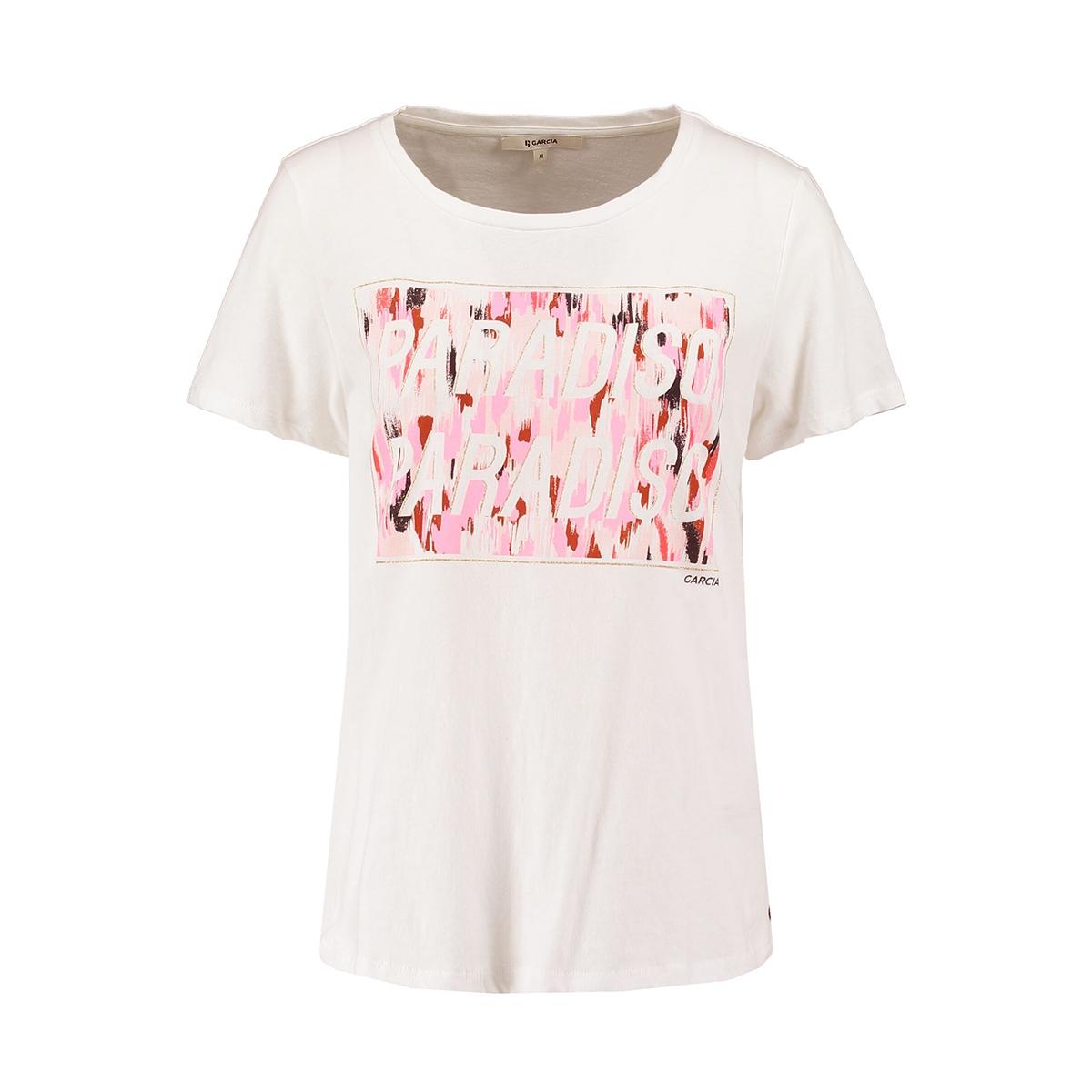t shirt met opdruk q00007 garcia t-shirt 53 off white