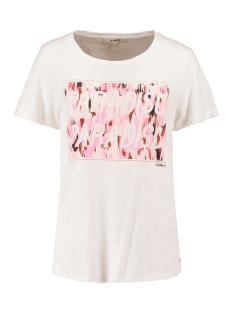 Garcia T-shirt T SHIRT MET OPDRUK Q00007 53 Off white