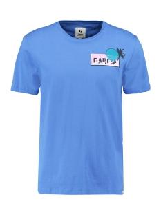 Garcia T-shirt T SHIRT MET OPDRUK Q01001 5214 Lapis