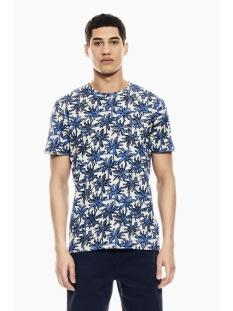 Garcia T-shirt T SHIRT MET ALLOVER PRINT Q01009 5214 Lapis