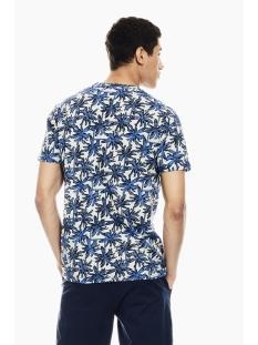 t shirt met allover print q01009 garcia t-shirt 5214 lapis