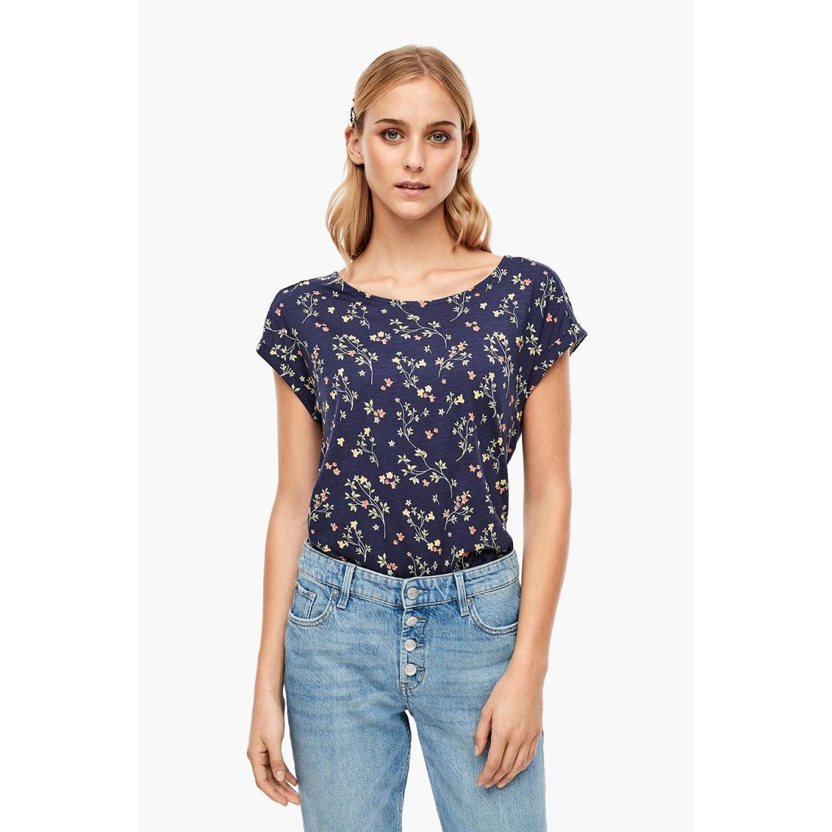 t shirt met jungle patroon 05006325349 s.oliver t-shirt 58b3
