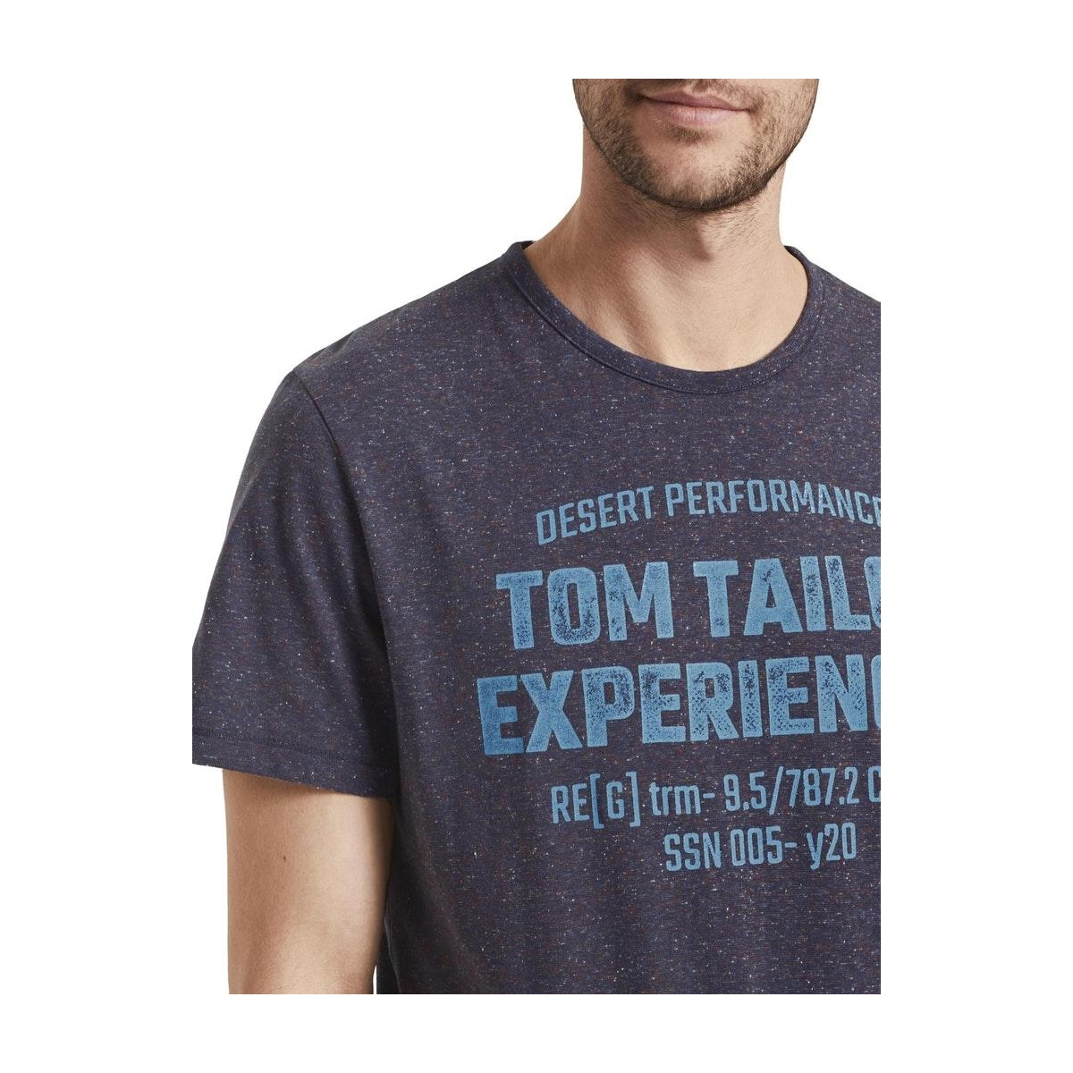 bedrukt t shirt 1019659xx10 tom tailor t-shirt 23402