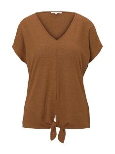Tom Tailor T-shirt T SHIRT MET KNOOPDETAIL 1019394XX71 22110