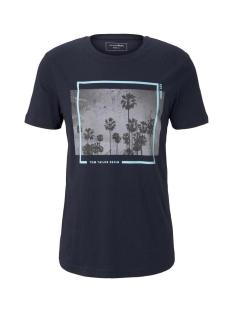 Tom Tailor T-shirt T SHIRT MET PALM PRINT 1019590XX12 10668