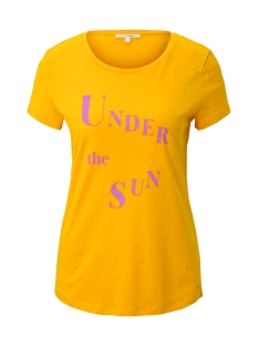Tom Tailor T-shirt T SHIRT MET PRINT 1019378XX71 22502