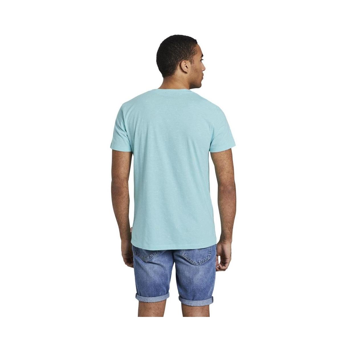 t shirt met allover print 1019088xx12 tom tailor t-shirt 23120