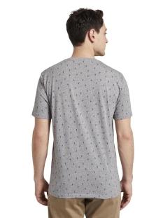 t shirt met all over print 1019660xx10 tom tailor t-shirt 23404