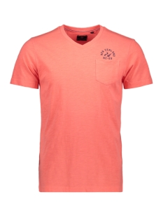 NZA T-shirt TANGARAKAU 20DN710 632 BRIGHT ORANGE