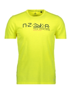 NZA T-shirt WAITAHA 20DN701 454 TROPICAL YELLOW