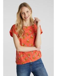 Esprit T-shirt T SHIRT MET LINNENMIX 050EE1K335 E645