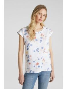 Esprit T-shirt SHIRT MET PRINT 050EE1K375 E100