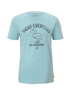 Tom Tailor T-shirt T SHIRT MET PRINT 1020108XX12 21757