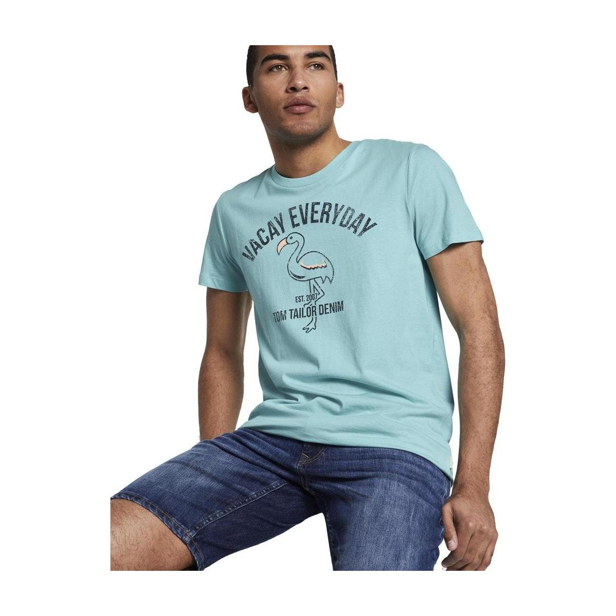 t shirt met print 1020108xx12 tom tailor t-shirt 21757