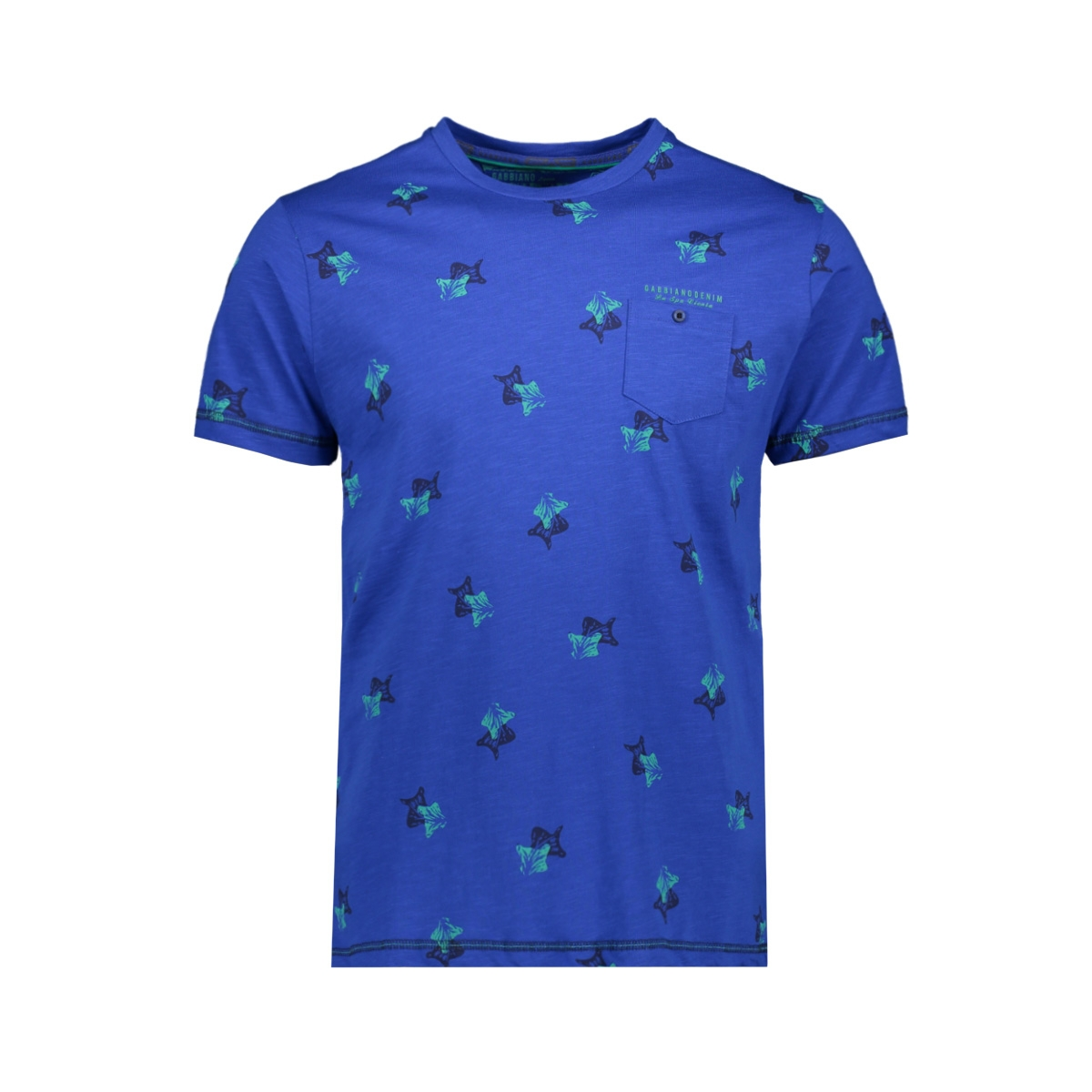 t shirt 15190 gabbiano t-shirt cobalt