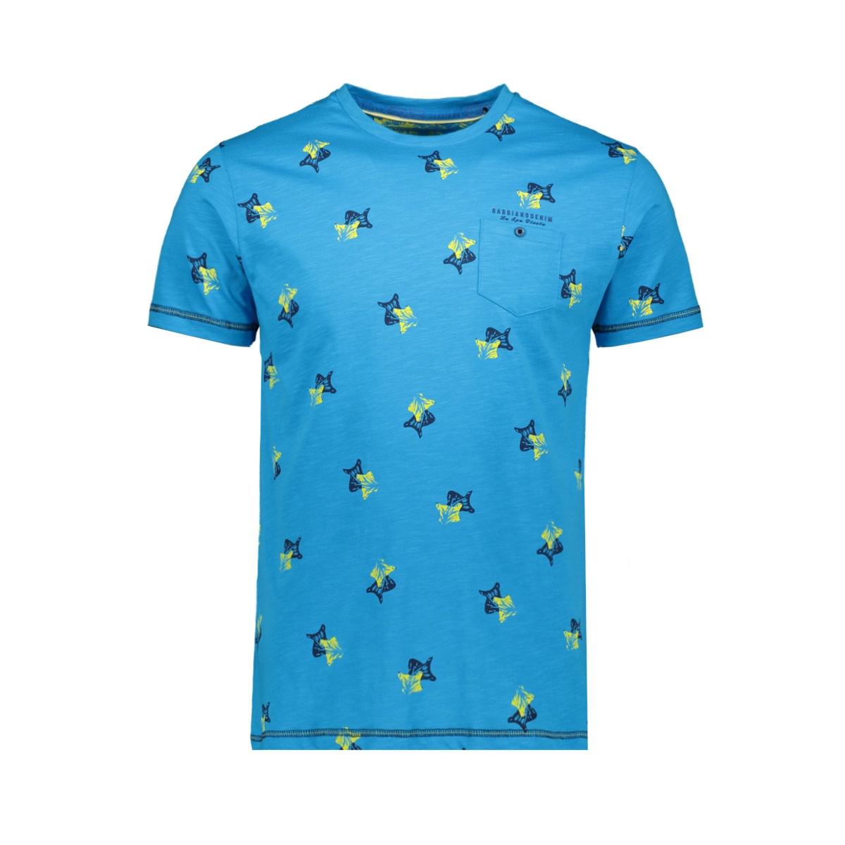 t shirt 15190 gabbiano t-shirt turquoise