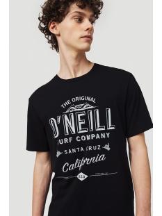 lm muir t shirt 0a2330 o`neill t-shirt 8240 anthracite