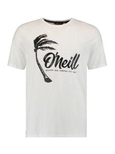 O`Neill T-shirt LM PALM GRAPHIC T SHIRT 0A2352 1030 POWDER WHITE