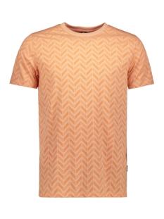 Kultivate T-shirt TS TRIBE 2001020226 489 CORAL PINK MELANGE